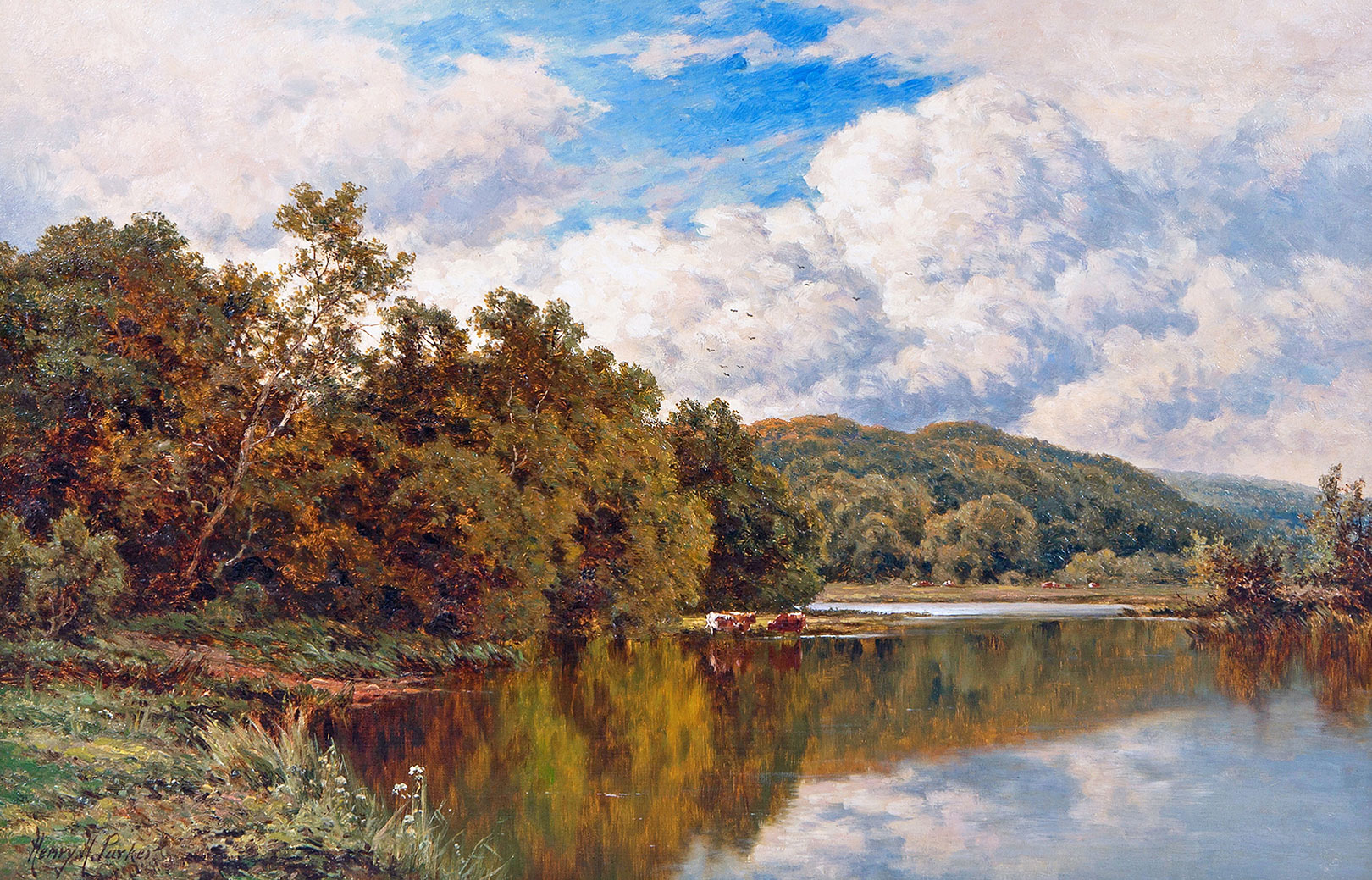 Henry Parker 'Carnes Fine Art'