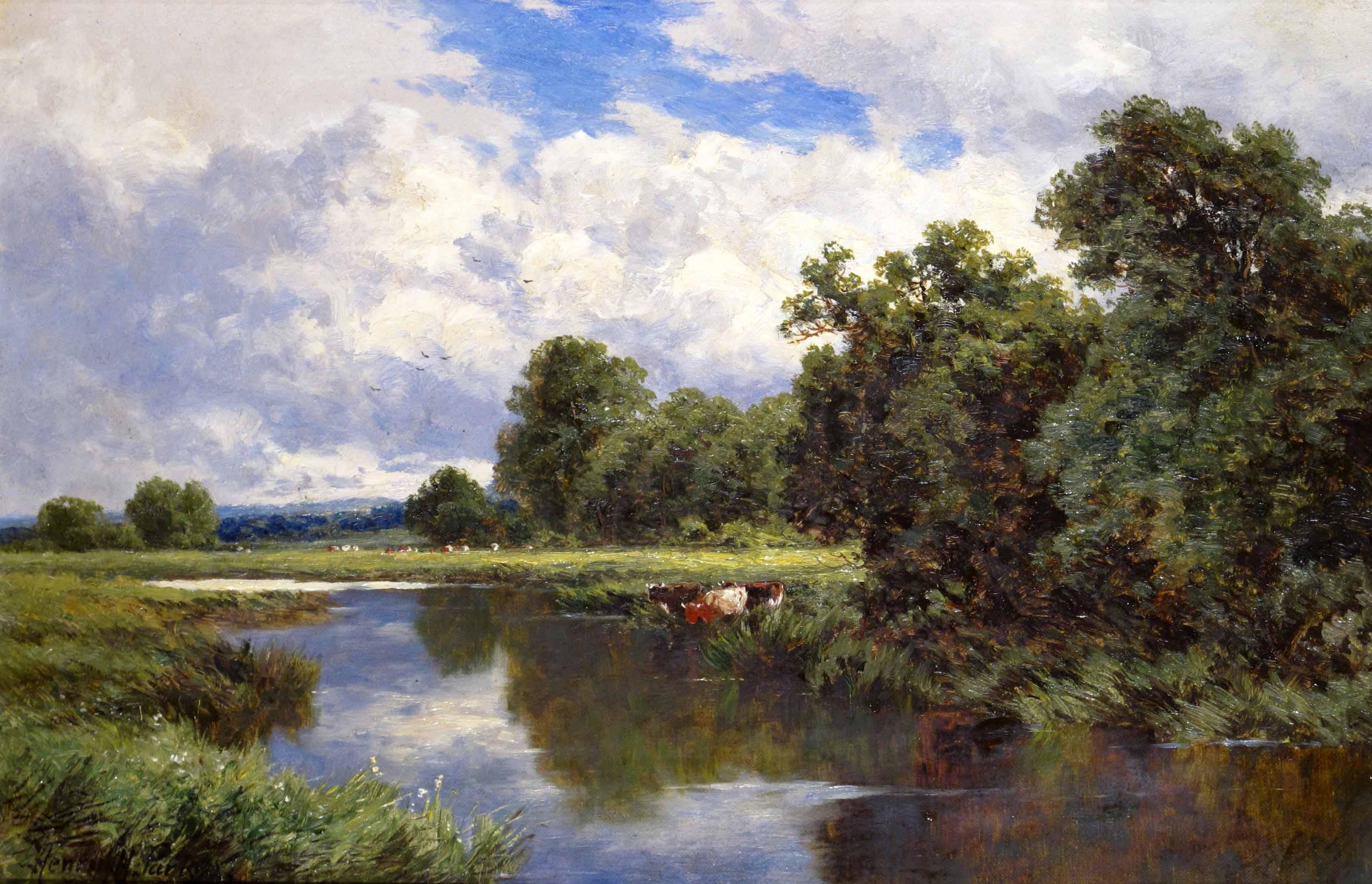Henry Parker painting Carnes Fine Art