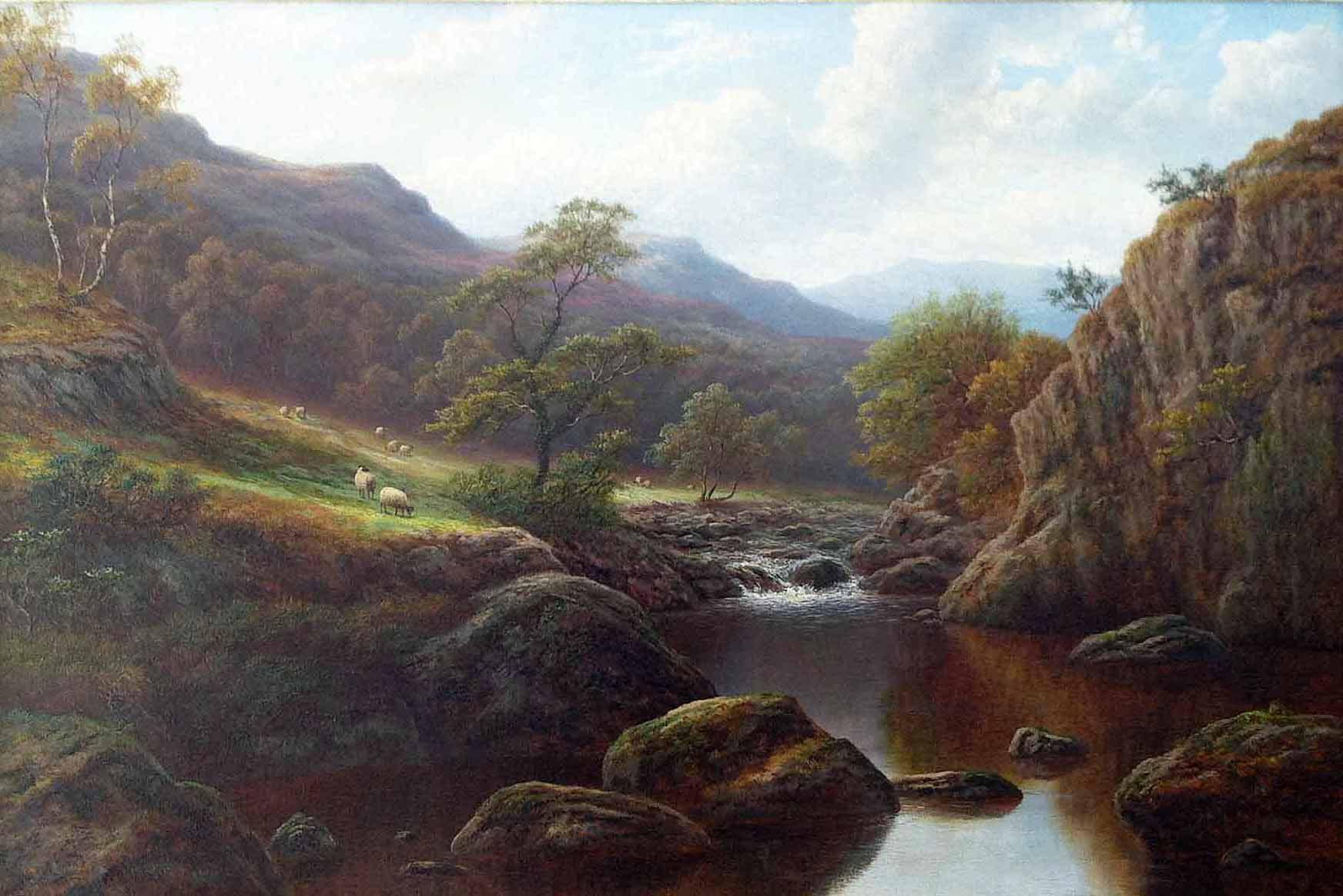 William Mellor 'on the Llugwy' Carnes Fine Art