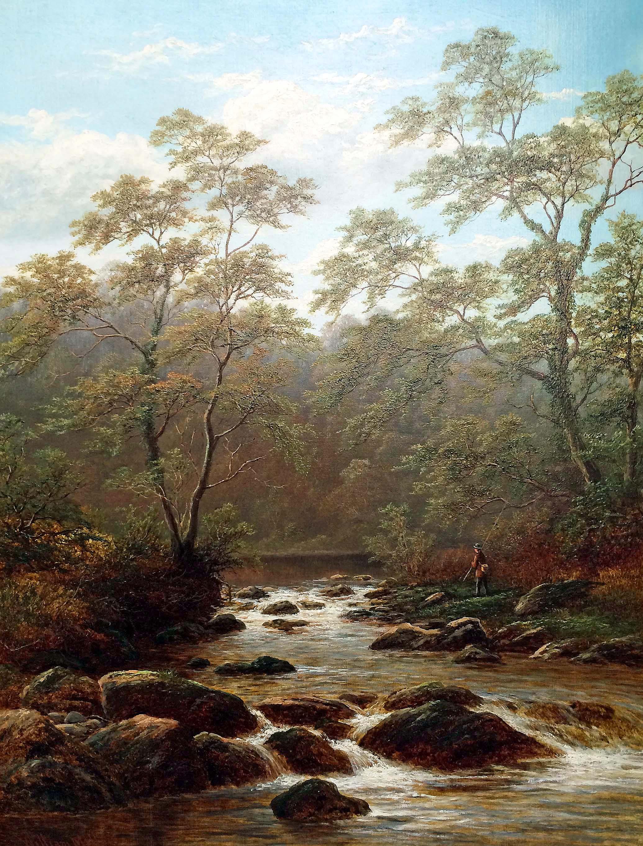 William Mellor painting Carnes Fine Art
