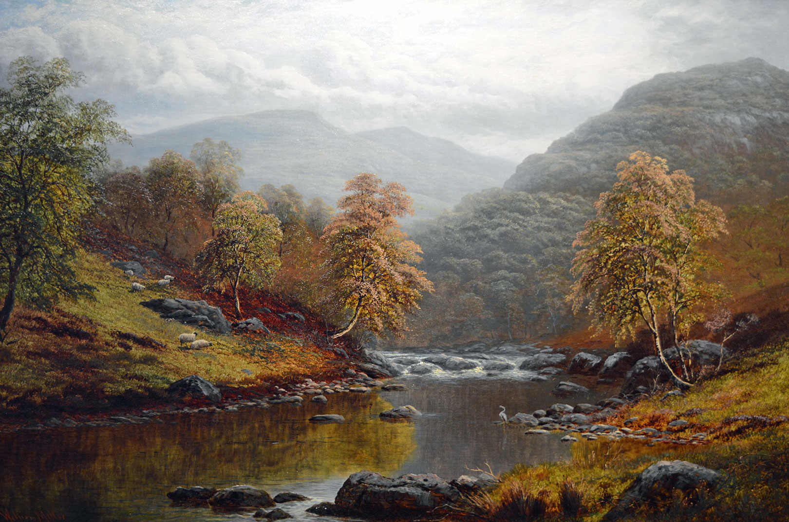 William Mellor painting Carnes Fine Art