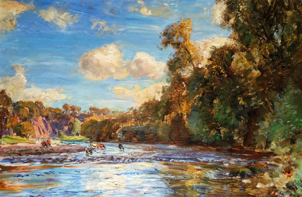 On the Wharfe (SOLD)