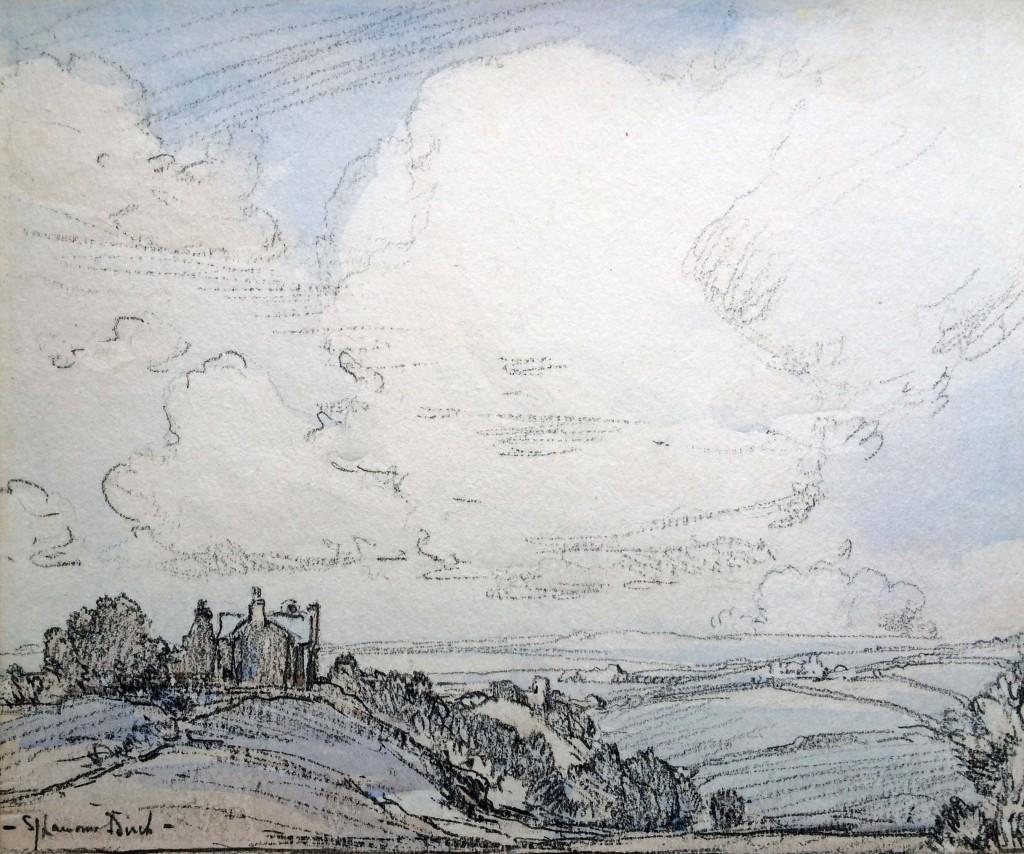 British Landscape Scene (SOLD)