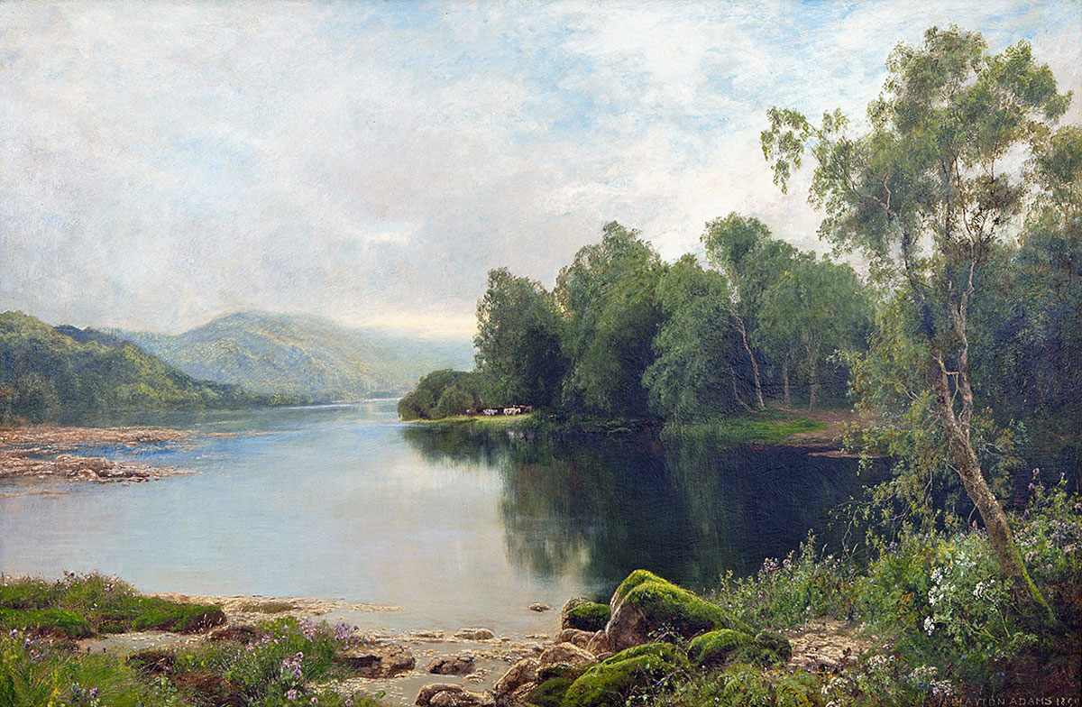 John Clayton Adams 'Carnes Fine Art'