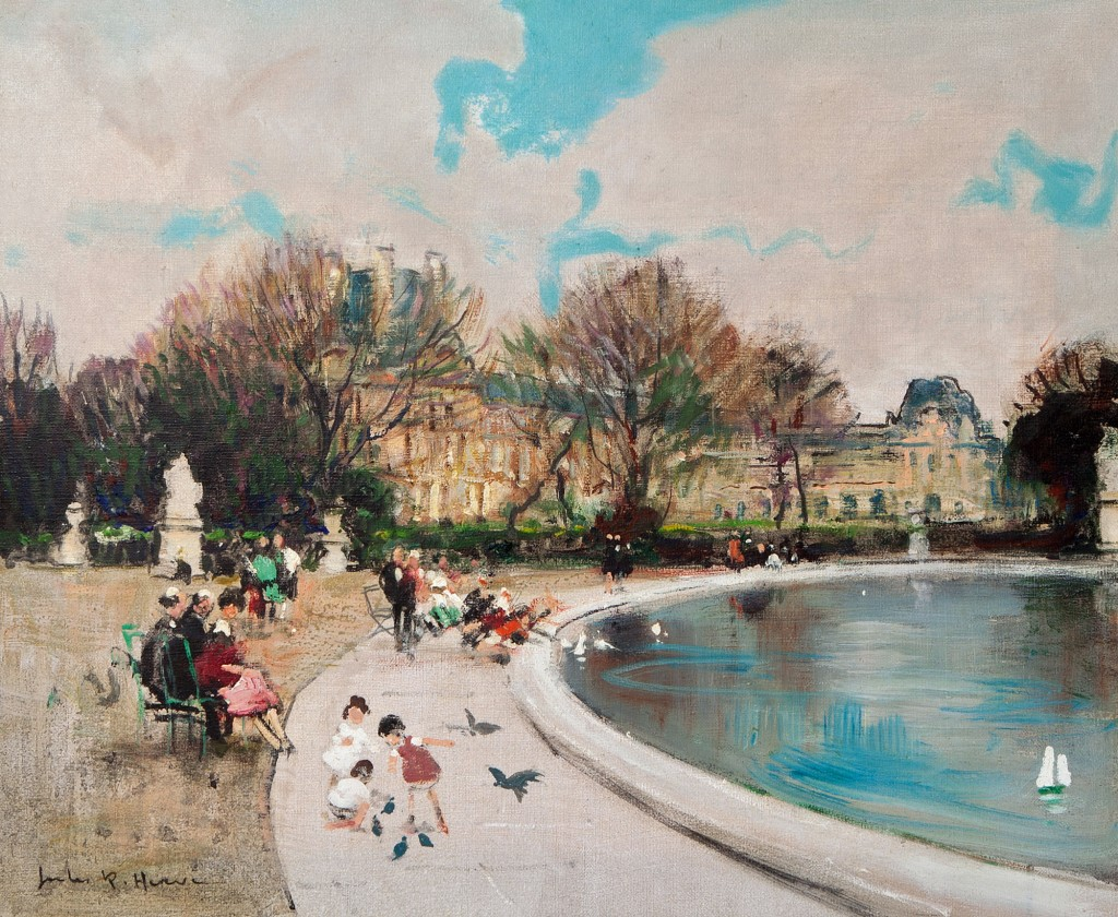 Jardin des Tuileries, Paris (SOLD)