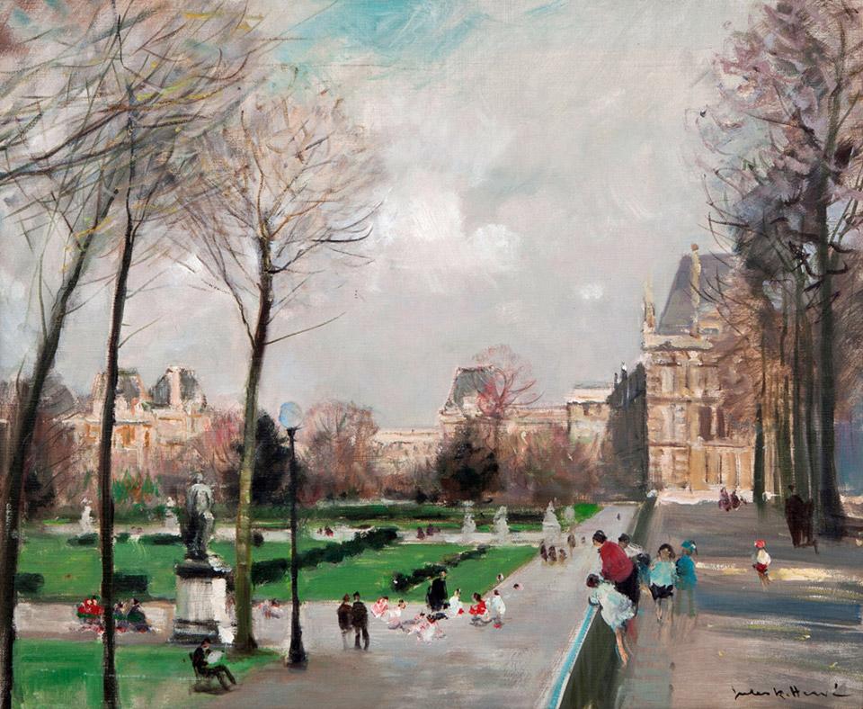 Jules Rene Herve Carnes Fine Art