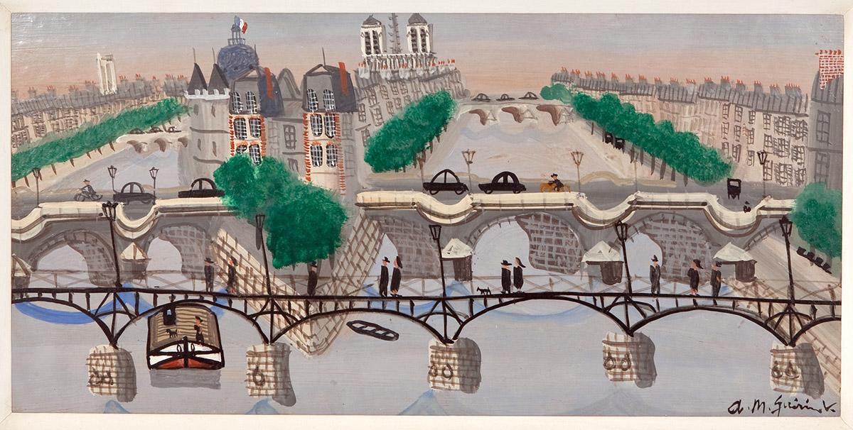 Armand-Marie Guerin 'Carnes Fine Art'