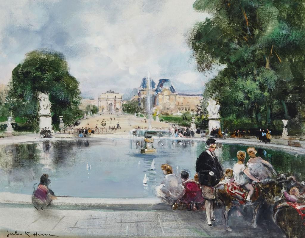 Le musée du Louvre et des Tuileries