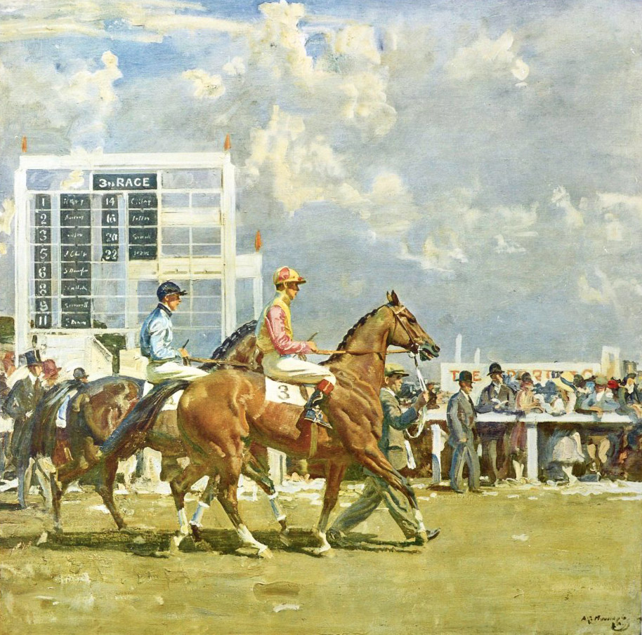 'Going out Epsom' (SOLD)