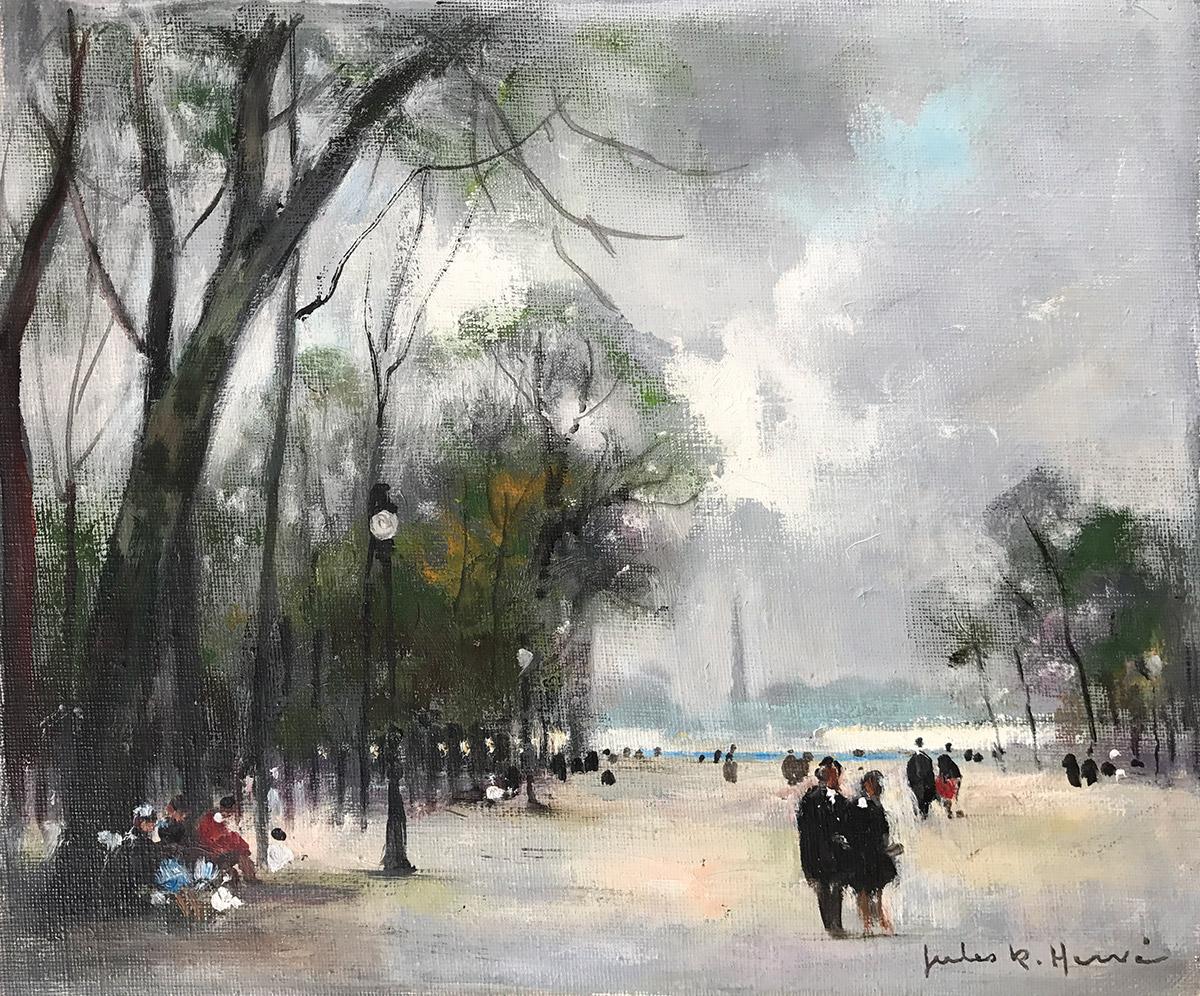 Jardin des Tuileries Carnes Fine Art
