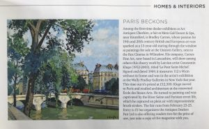 Carnes Fine Art in Cheshire Life Magazine