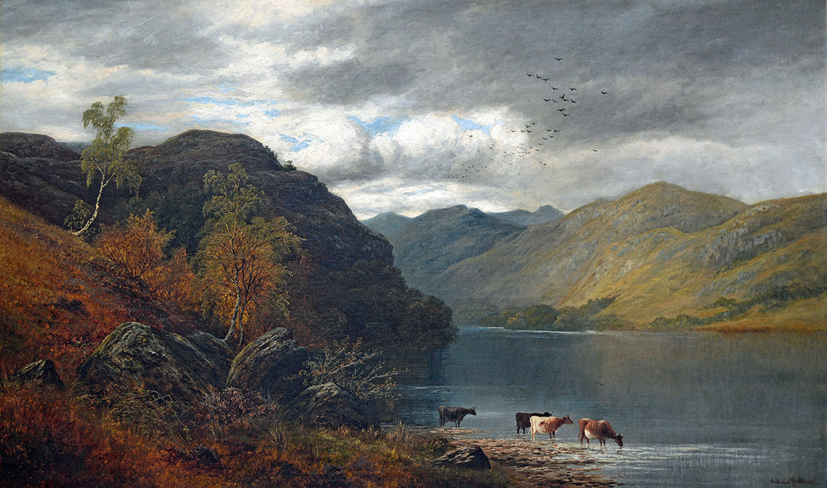 Derwentwater the Lake District National Park