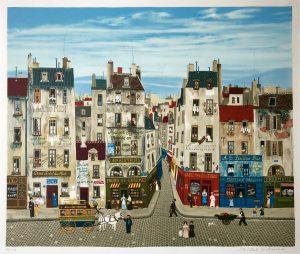 Michel Delacroix artwork available at Cranes Fine Art