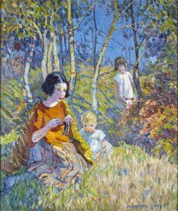 Dorothea Sharp Painting For Sale - Carnes Fine Art