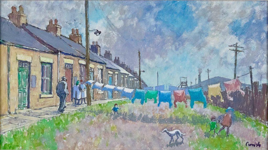 Washday on Thomas Street