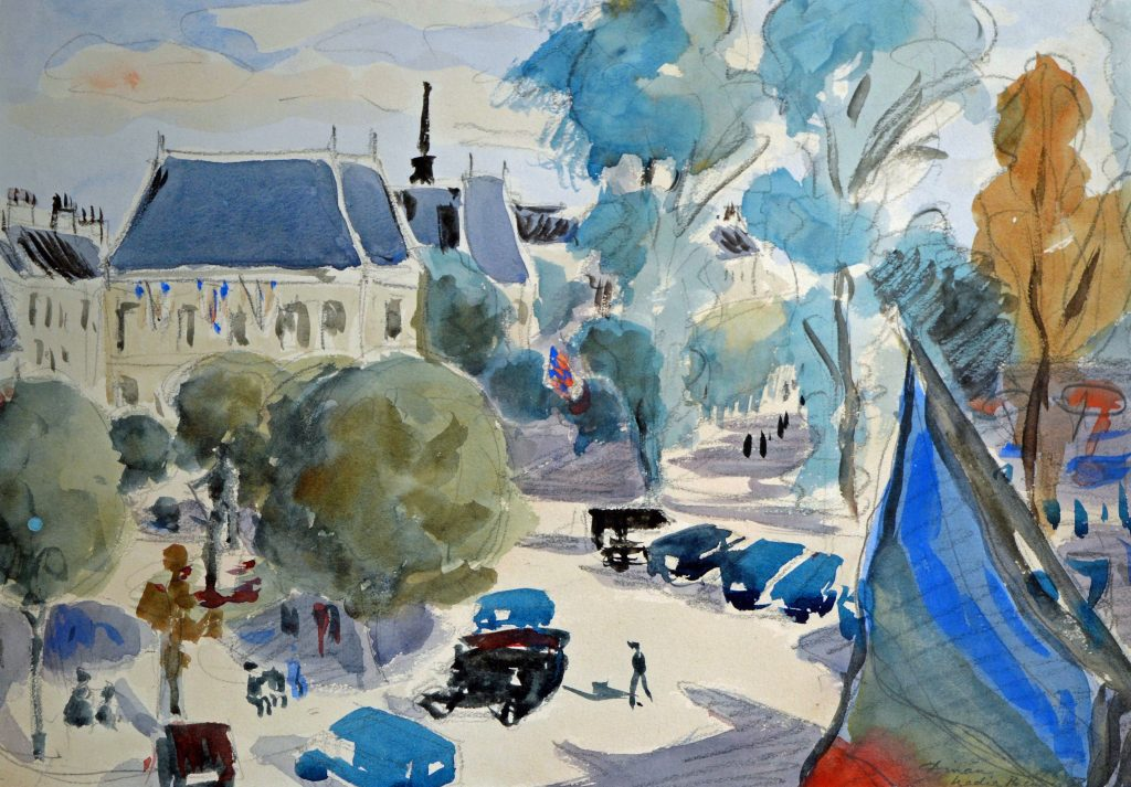 The Town of Dinan in Brittany, France (SOLD)