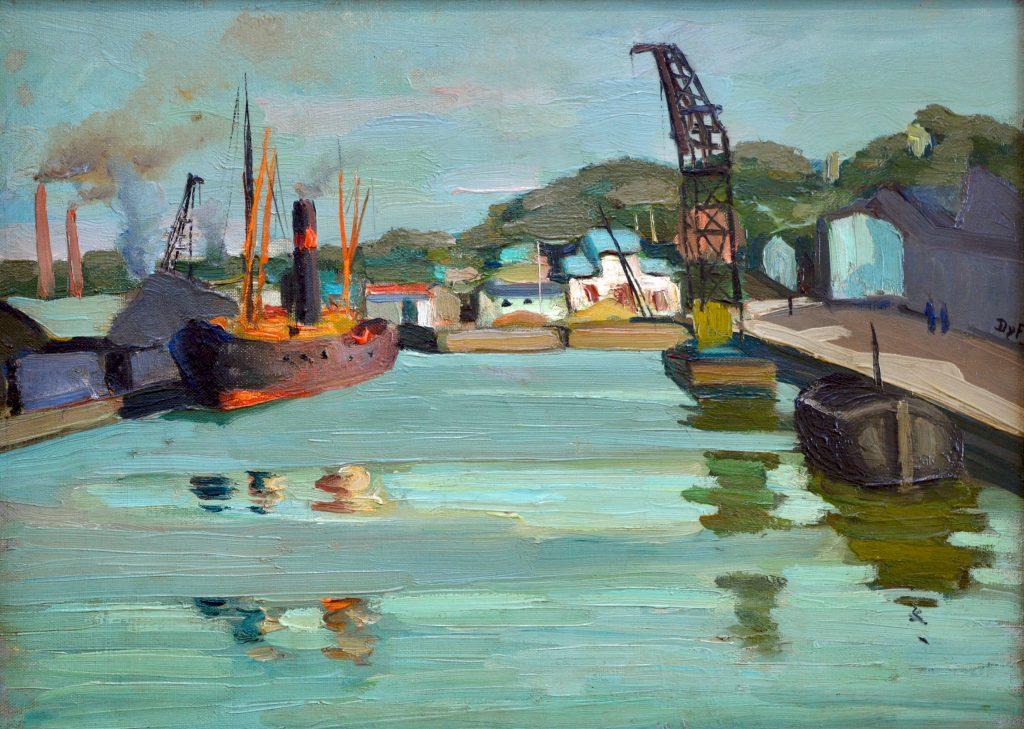 Navires dans le port (Recent Acquisition)