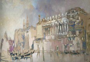 William Walcot Venice Watercolour