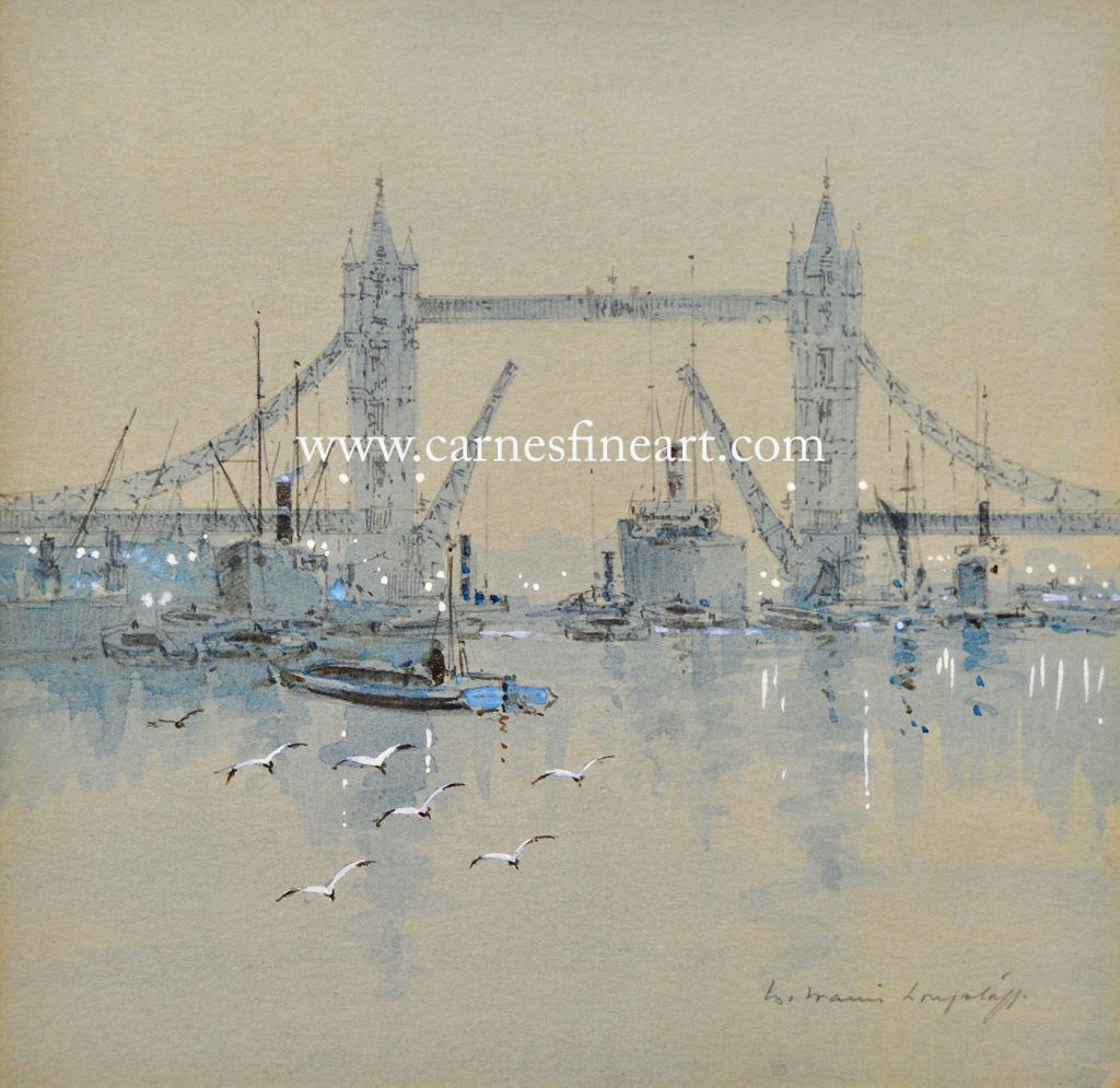 London Bridge Watercolour