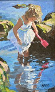 Sherree Valentine Daines Original Oil Painting