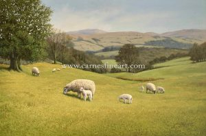 Sheep Oil Painting For Sale