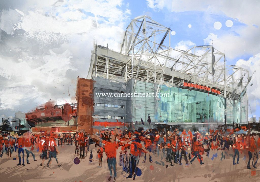 Manchester United Painting