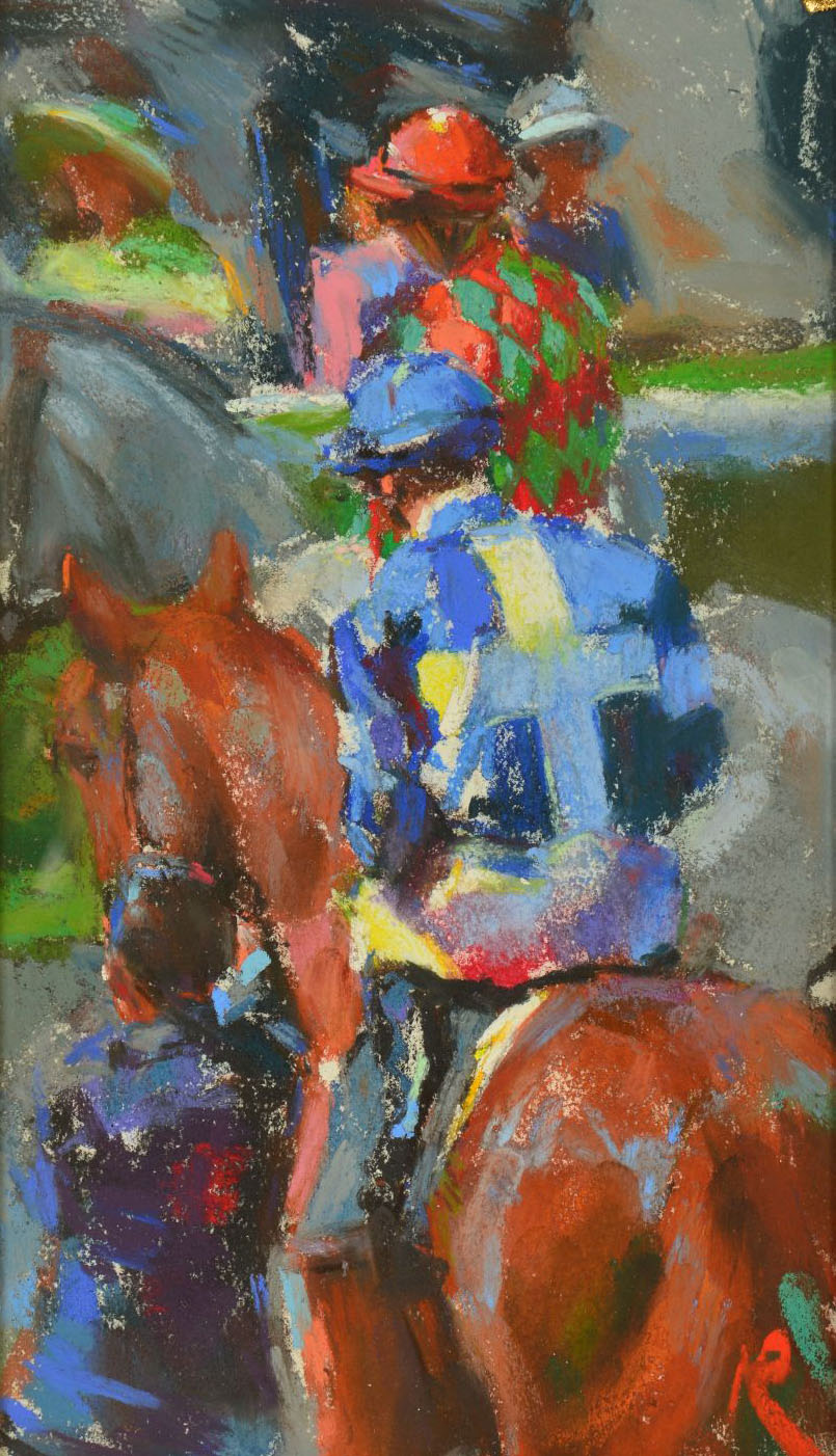Mark Rowbotham Paintings at Carnes Fine Art