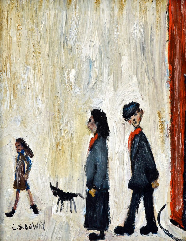Family on the Corner (SOLD)
