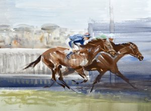 John Rattenbury Skeaping Painting For Sale