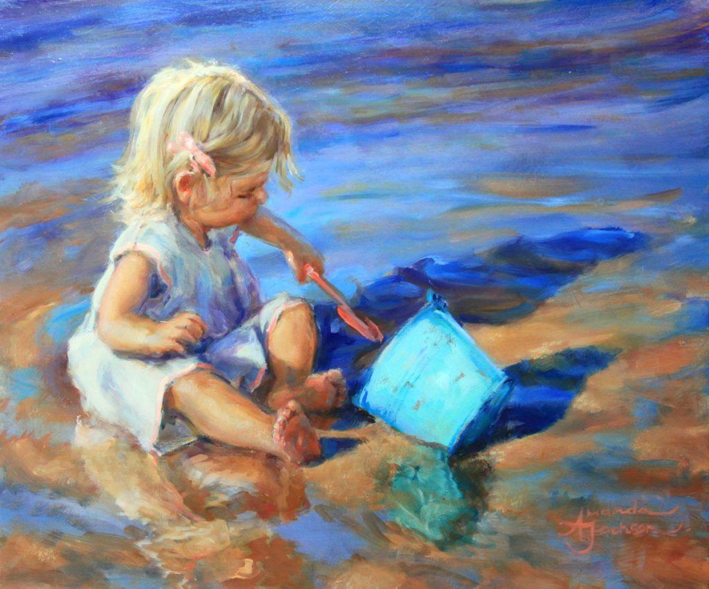 Amanda Jackson Painting | Carnes Fine Art