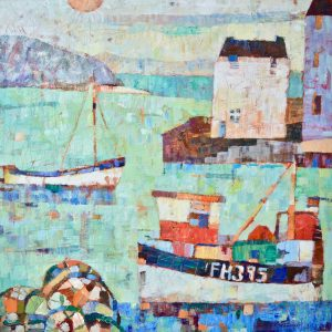 Sally Anne Fitter Paintings at Carnes Fine Art Mawdesley