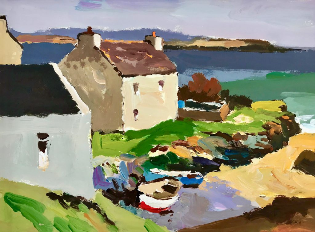 Donald McIntyre Painting