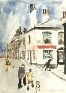Harold Riley Painting