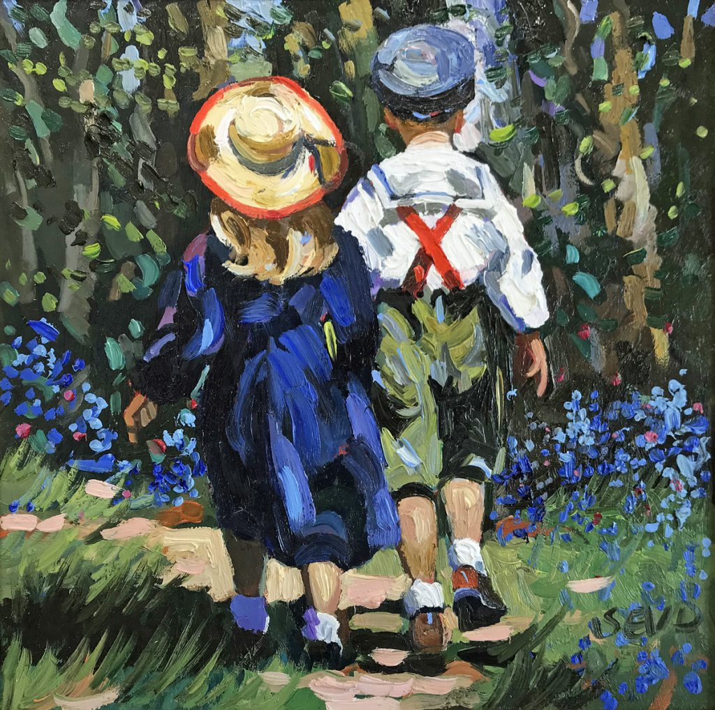 Sherree Valentine Daines Painting For Sale