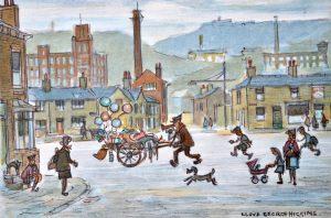 Lloyd George Higgins painting