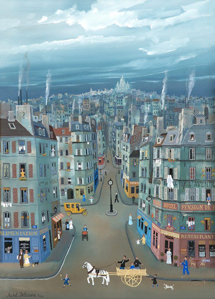 A view of Montmartre Paris (NEW)