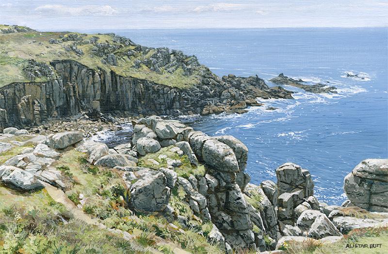 Rugged Coast Cornwall (NEW)